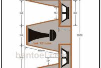 Schematic 12 Inch Speaker Box Super Deep Planar Field